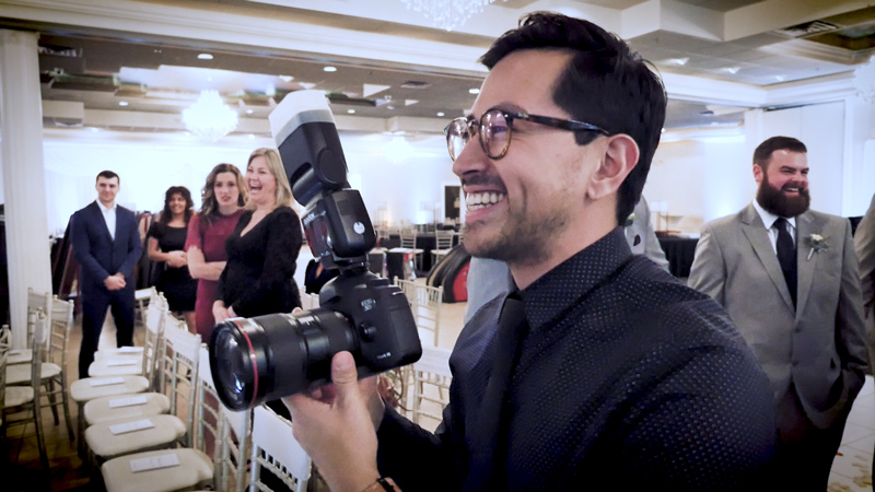 Learn about Sergio's wedding photography process.